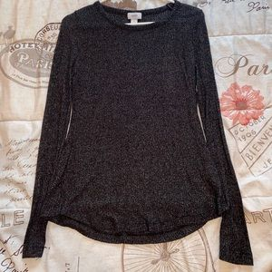 Black Knitted Old Navy Long Sleeve
